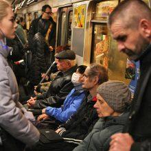 Ukrainoje neveiks viešasis transportas, uždaromos parduotuvės ir restoranai