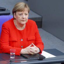 A. Merkel ragina susitarti dėl ES atsigavimo plano