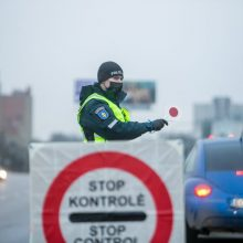 """Judėjimo kontrolė: policija daugiausia dėmesio skirs """"juodosioms"""" savivaldybėms"""