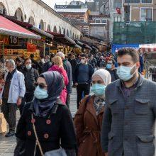 Turkijos ministras: įvedamas griežtas karantinas negalios turistams iš užsienio