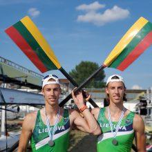 Pasaulio jaunimo vicečempionai broliai Stankūnai: šių medalių laukėme ketverius metus