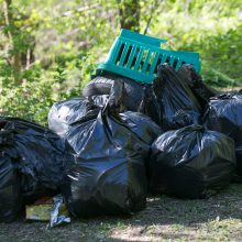 Kelininkai: šiemet pakelėse jau surinkta tris kartus daugiau atliekų nei pernai