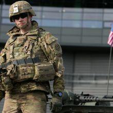 Melagingos informacijos kampanija siekta diskredituoti JAV pajėgas Europoje