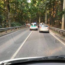 Radvilėnų plente susidūrus automobiliams nukentėjo dvi vairuotojos