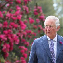 Britų princas Charlesas priims D. Trumpą