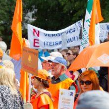 Kaip gyventojai gali paremti profesines sąjungas ar jų susivienijimus?