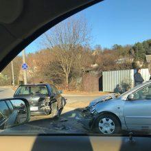 Per avariją Raudondvario plente nukentėjo moteris
