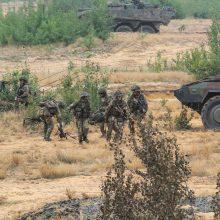 Lietuvos karinėse pratybose – stebėtojai iš Baltarusijos