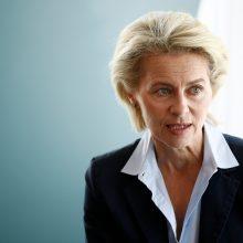 """U. von der Leyen pristatė ES """"žaliojo kurso"""" planą"""