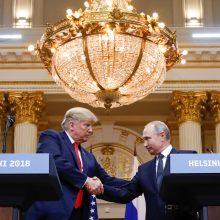 Kremlius: Paryžiuje D. Trumpas ir V. Putinas tik trumpai pasikalbės