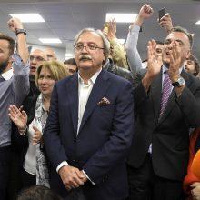 Gruzijos prezidento rinkimuose pirmauja G. Vašadzė ir S. Zurabišvili