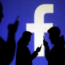"""Visame pasaulyje sutriko socialinio tinklo """"Facebook"""" veikla"""