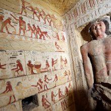 Egipte rastas aukšto rango senovės žynio kapas