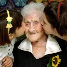 Ilgiausiai kada nors pasaulyje gyvenusi moteris išlieka prancūzė J. Calment