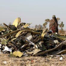 """Etiopija sudužusio lėktuvo """"juodąsias dėžes"""" išsiųs į Europą"""