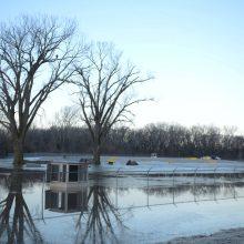 Potvynis Nebraskoje pareikalavo trijų žmonių gyvybių
