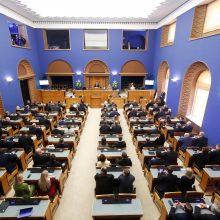 Estijos valdantieji neteiks parlamentui ratifikuoti sienos sutarties su Rusija