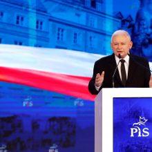 S. Skvernelis pasveikino J. Kaczynskį su 70-mečiu