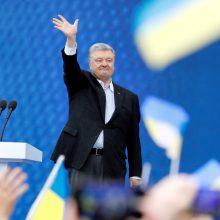 P. Porošenkos ir V. Zelenskio debatai: aršios retorikos netrūko