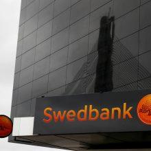 """Estijos """"Swedbank"""" vadovas: neįmanoma nustatyti įtartinų operacijų apimčių"""