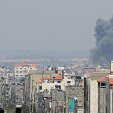 Gazos Ruože vėl prasidėjo kruvini neramumai: žuvo mažiausiai 12 žmonių