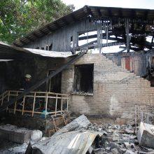 Ukrainos psichiatrijos ligoninėje kilus gaisrui žuvo šeši žmonės