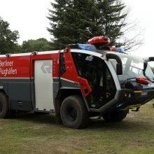 Vokietijos buvusį karinį poligoną apėmė didžiulis miško gaisras