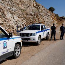 Britų mokslininkė Graikijos saloje žuvo nukritusi iš didelio aukščio?