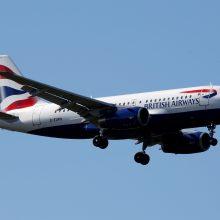"""Atšauktas trečiasis """"British Airways"""" streikas"""
