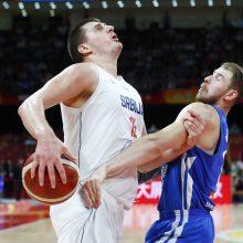 Serbijos krepšininkai pasaulio čempionate užėmė penktąją vietą