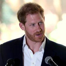 Princas Harry pateikė skundą prieš Britanijos laikraščius