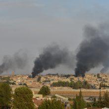 Per Turkijos karinę operaciją Sirijoje žuvo mažiausiai septyni civiliai