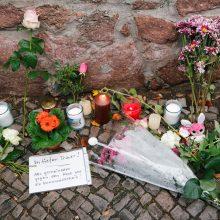 """Prieš antisemitinę ataką Vokietijoje užpuolikas internete paskelbė """"manifestą"""""""