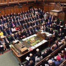 """JK parlamentas sprendžia dėl naujo """"Brexit"""" susitarimo"""