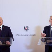 A. Lukašenka gina savo autoritarinį valdymo stilių