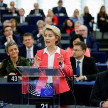 U. von der Leyen žada ES transformaciją