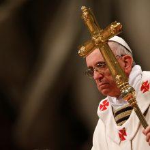 Pranciškus panaikino popiežiškąją paslaptį seksualinio išnaudojimo bylose