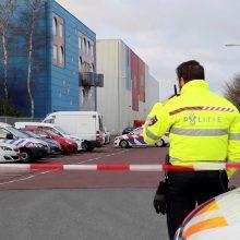 Nyderlandų įmonių biuruose sprogo du pašto siuntose paslėpti užtaisai