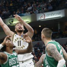 """Smūgis """"Pacers"""": D. Sabonis palieka NBA """"burbulą"""""""