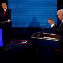 D. Trumpas ir J. Bidenas susitiks su rinkėjais Vidurio Vakarų valstijose