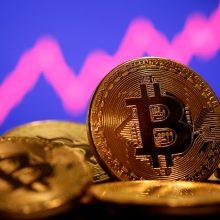 Bitkoino kaina šoko į rekordines aukštumas