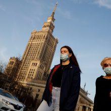 Lenkijoje dėl didėjančio sergamumo COVID-19 vėl įvedamas griežtas karantinas