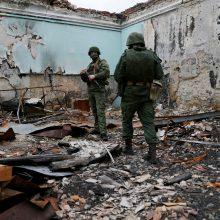 Berlynas: Rusija Ukrainos konflikte siekia provokuoti