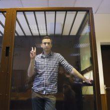ES išreiškė susirūpinimą blogėjančia A. Navalno sveikata