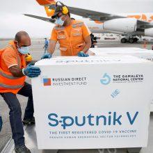 "Slovakijoje birželį prasidės skiepijimas vakcina ""Sputnik V"""