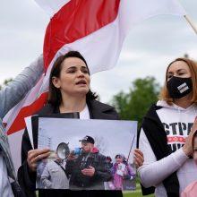 Baltarusių opozicijos lyderės S. Cichanouskajos vyras stojo prieš teismą