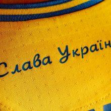 Ukraina derasi su UEFA, siekdama atšaukti sprendimą dėl futbolininkų uniformos