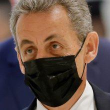 Prancūzų prokurorai prašo N. Sarkozy skirti realią pusės metų įkalinimo bausmę