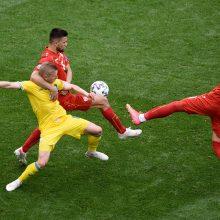 Europos futbolo čempionatas: Ukraina įveikė Šiaurės Makedoniją