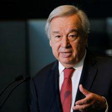 JT generalinis sekretorius A. Guterresas prisaikdintas antrai kadencijai
